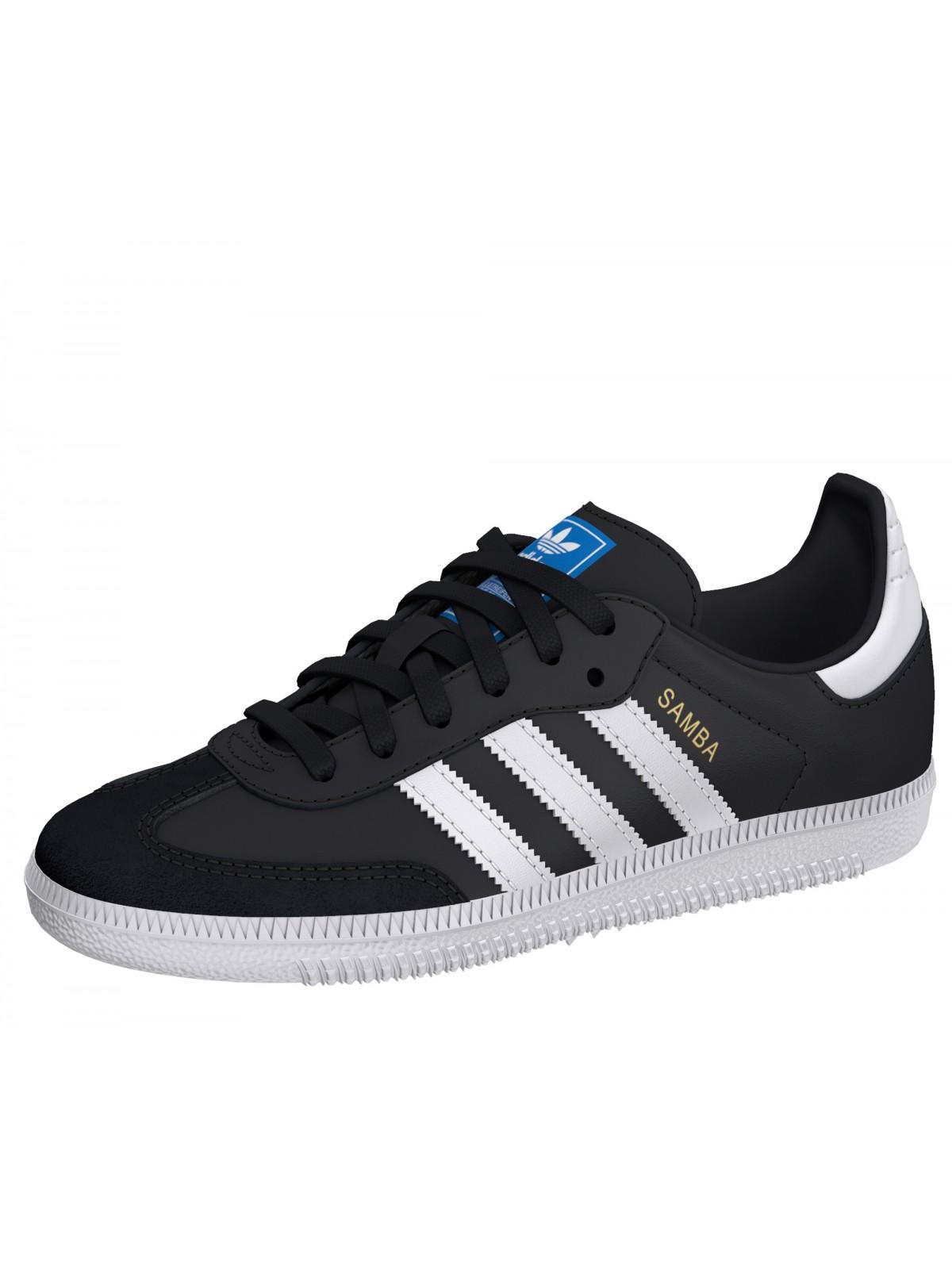 uk store outlet boutique low price sale Adidas Samba Cadet noir - Soldes