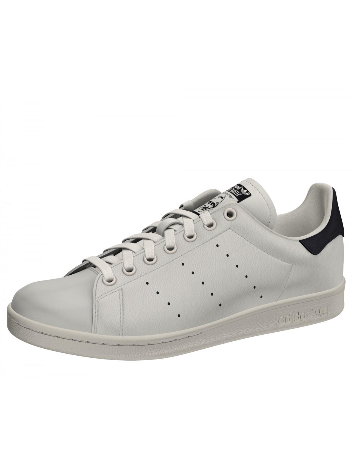 Adidas Stan Smith cuir crème / noir