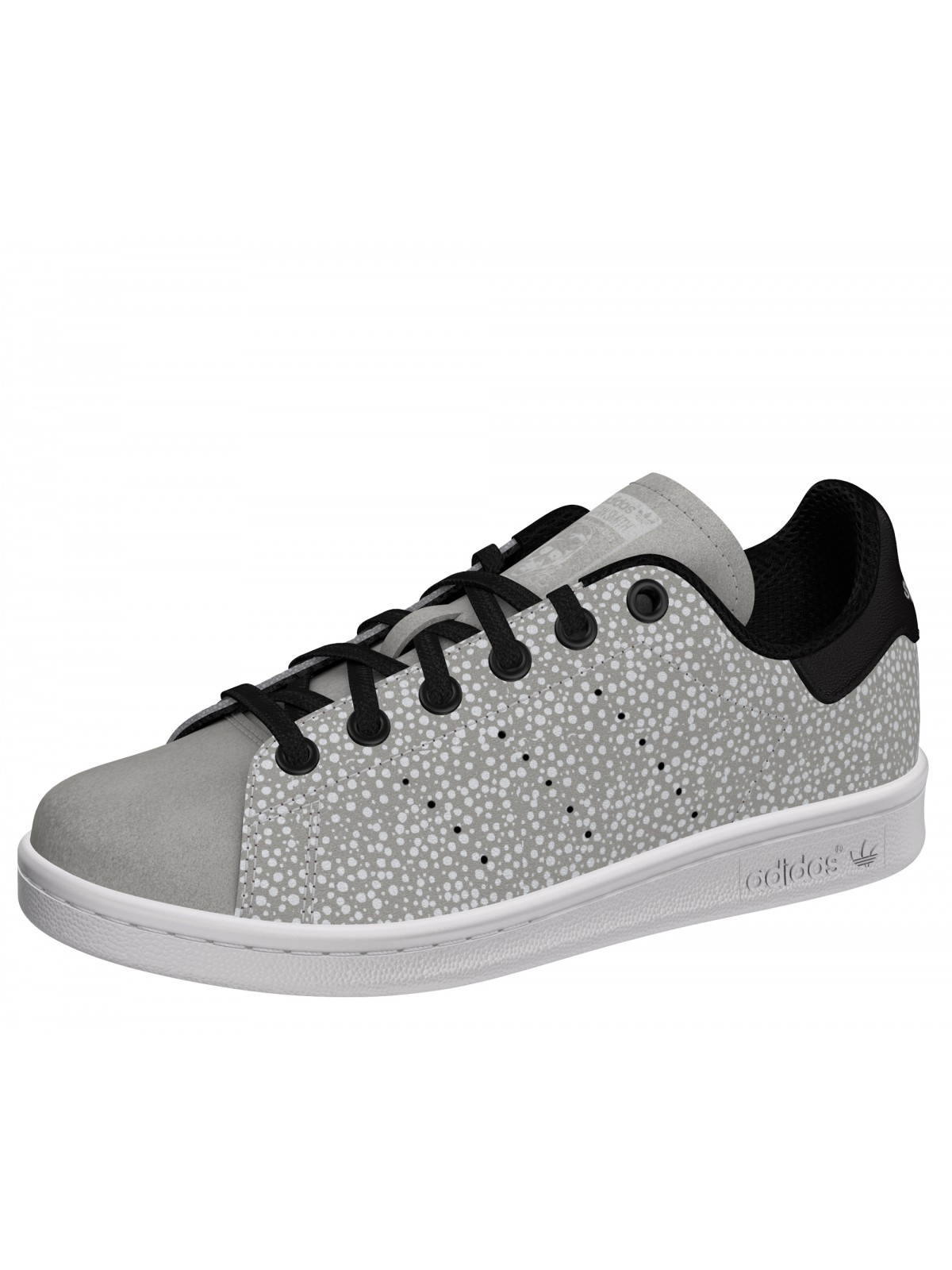 Adidas Stan Smith Kids dots gris (phosphorescent)