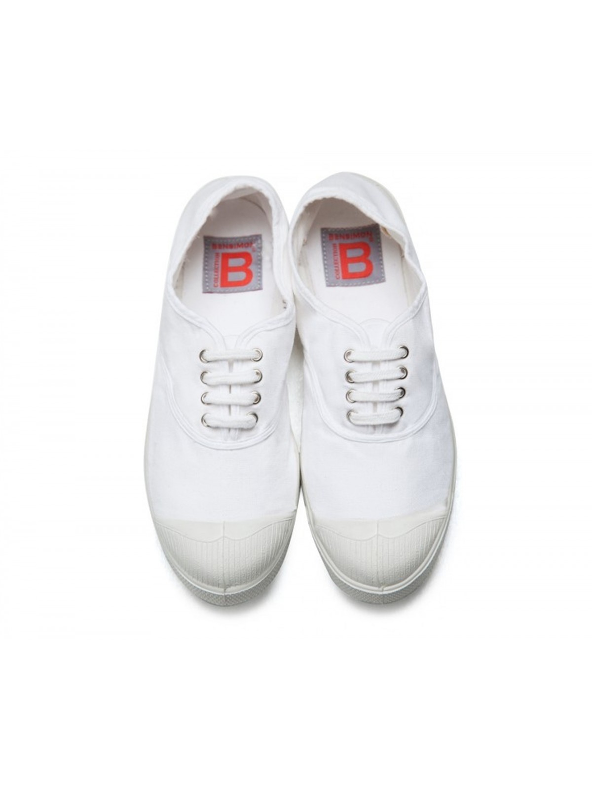Bensimon tennis lacet blanc