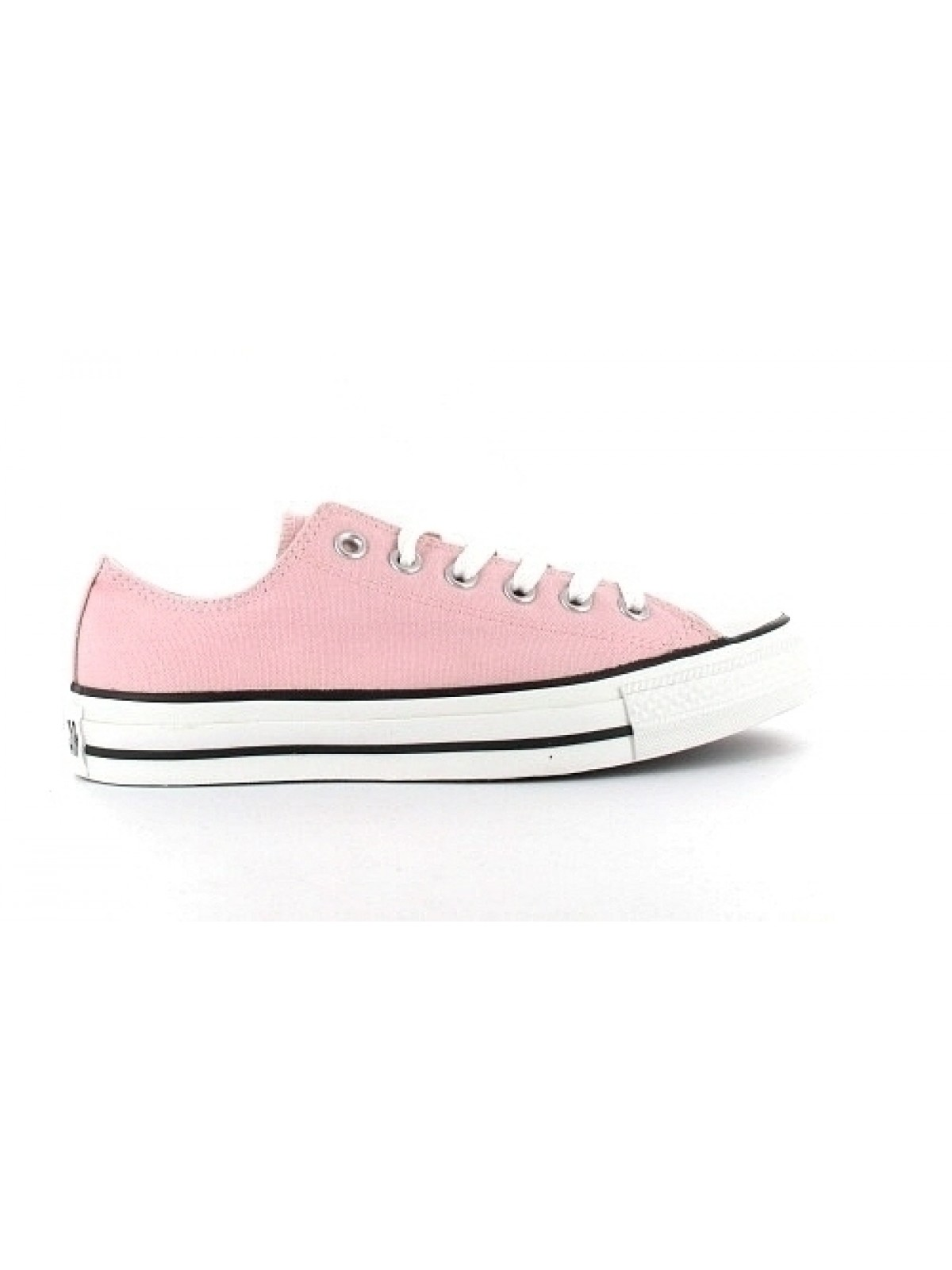 Converse Chuck Taylor all star toile basse rose