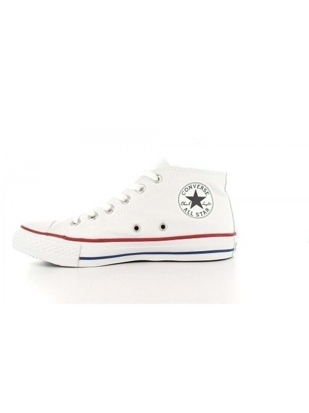 Converse Chuck Taylor all star Mid toile Blanc