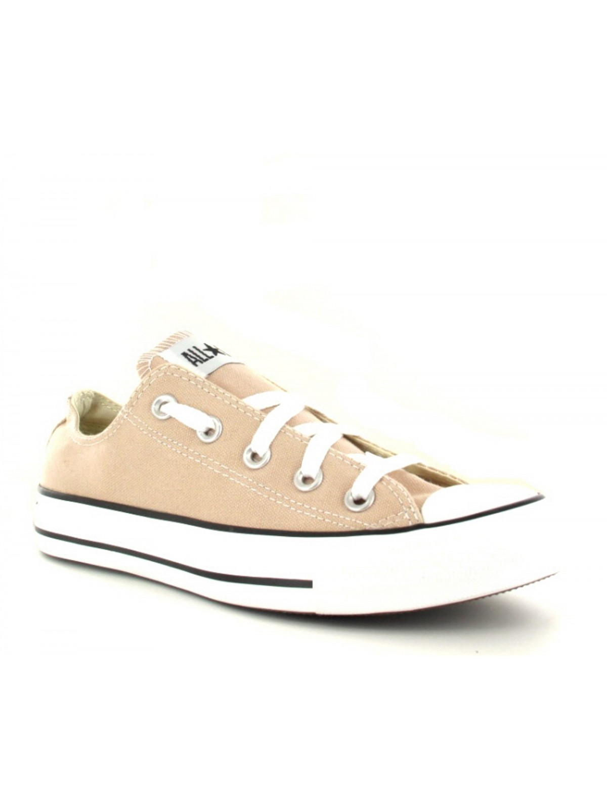 Converse Chuck Taylor all star toile basse beige clair