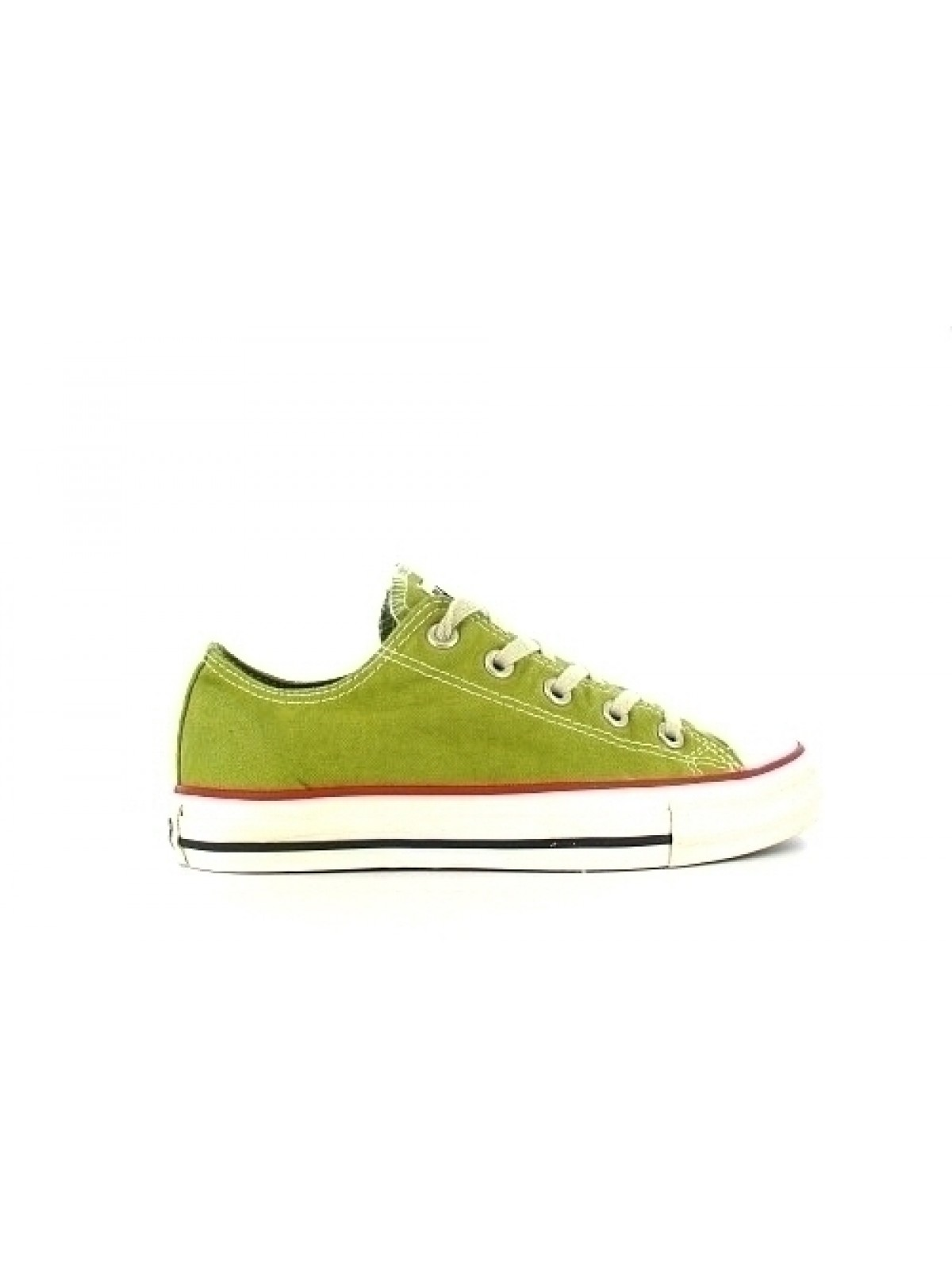 Converse Chuck Taylor all star toile basse vintage anis