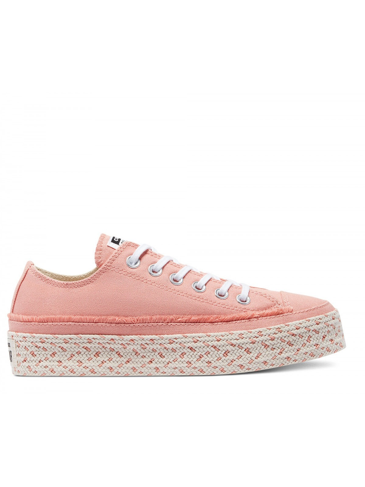 Converse Chuck Taylor all star Espadrille plateforme pink