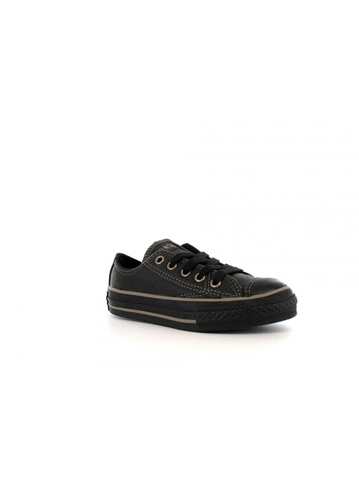 Converse Chuck Taylor all star junior cuir basse soft noir