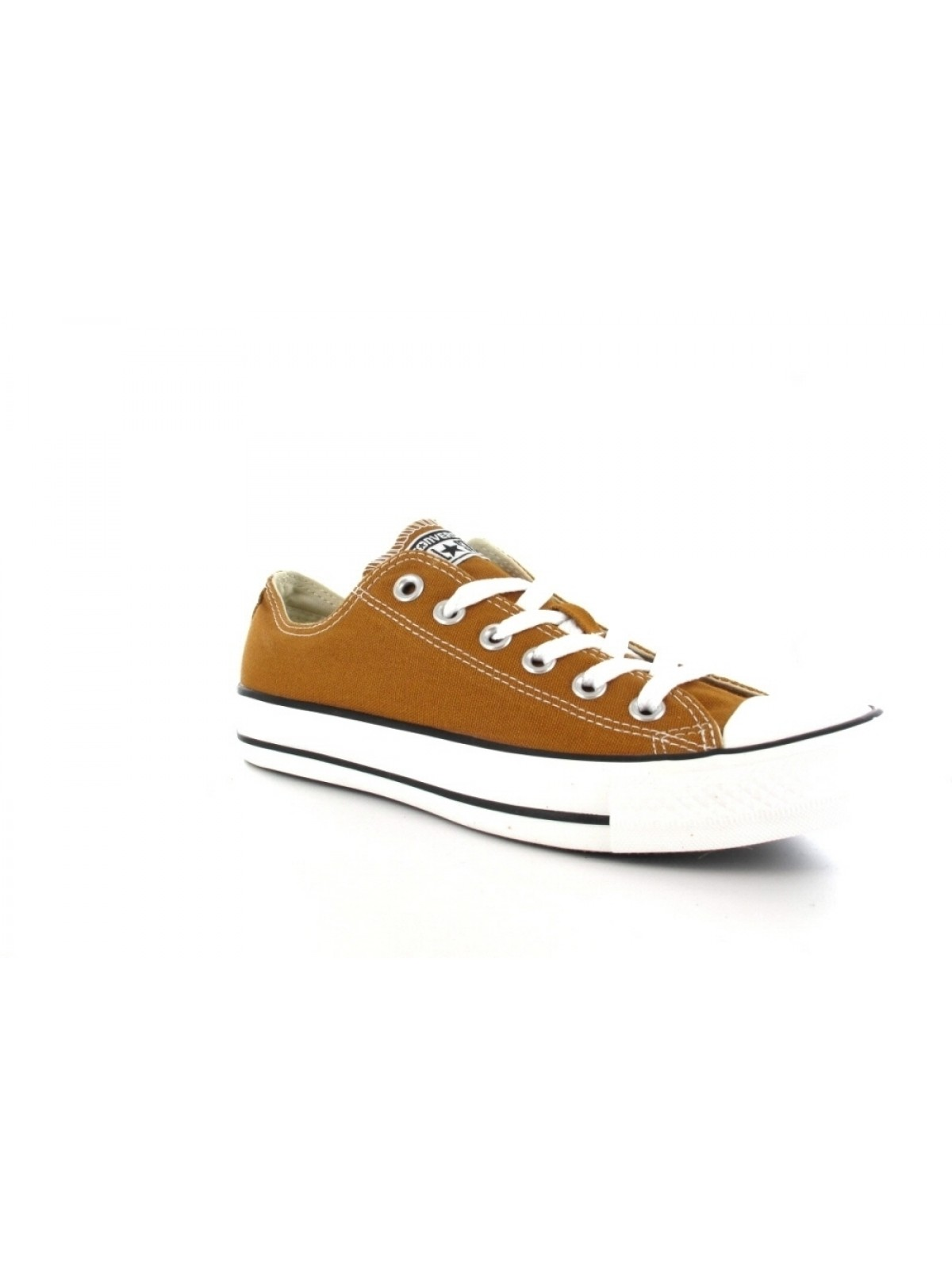 Converse Chuck Taylor all star toile basse marron clair