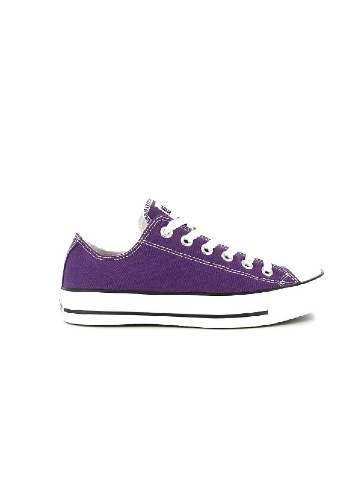 Converse Chuck Taylor all star toile basse purple