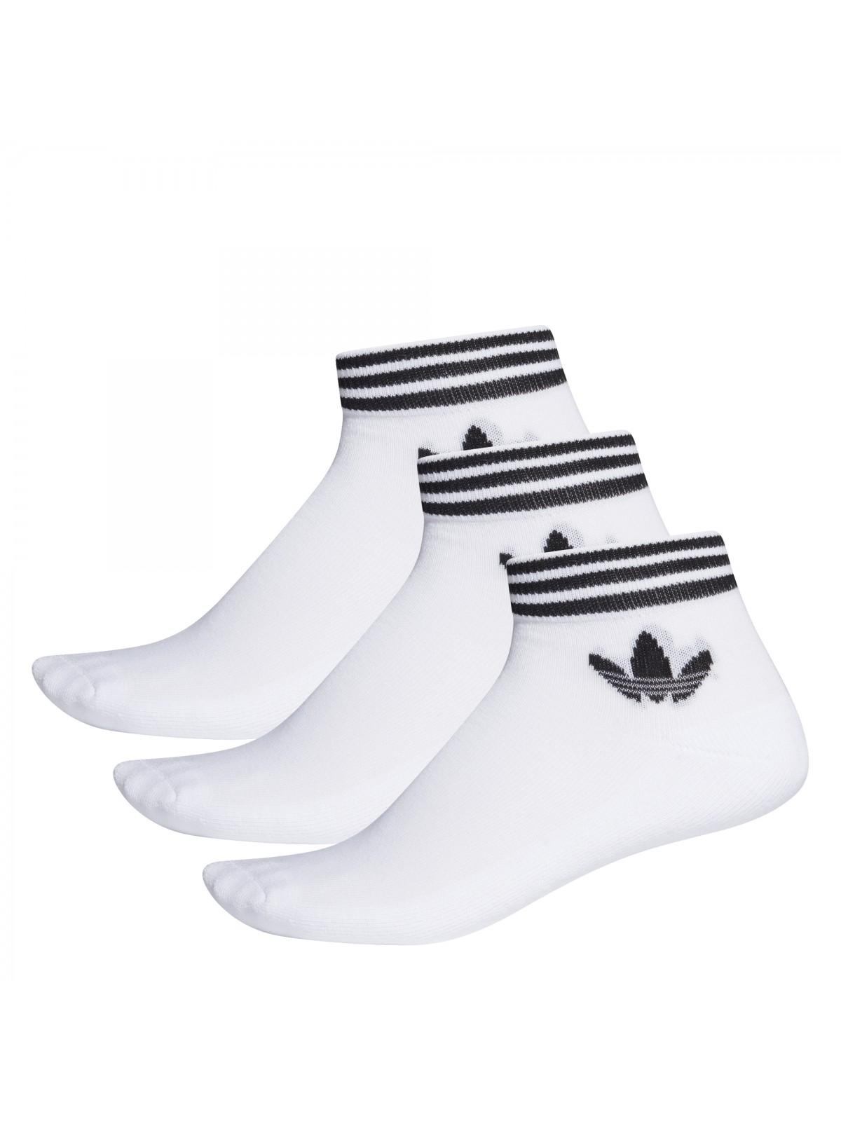 ADIDAS Chaussettes trefoil blanc / noir