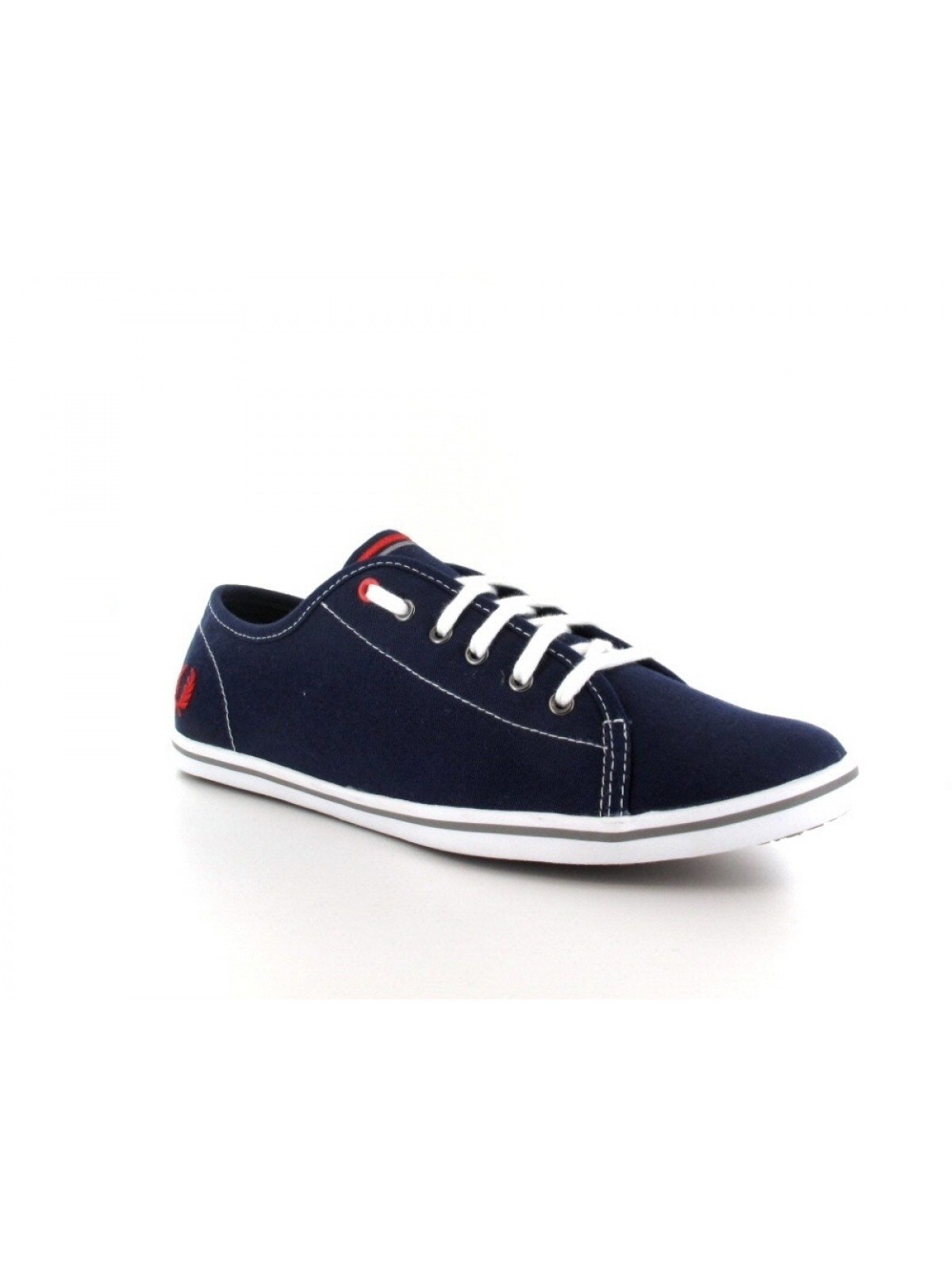 Fred Perry Phoenix toile navy / red