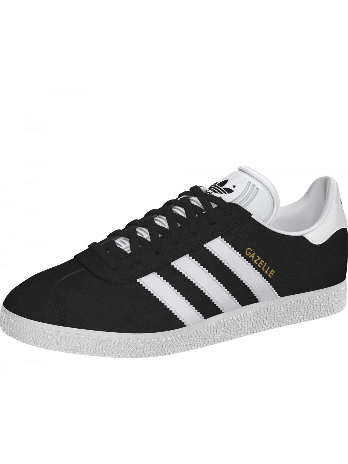 meilleur site web 8d944 b9d4e Adidas Gazelle suède noir / blanc (Gazelle 2) - Marques