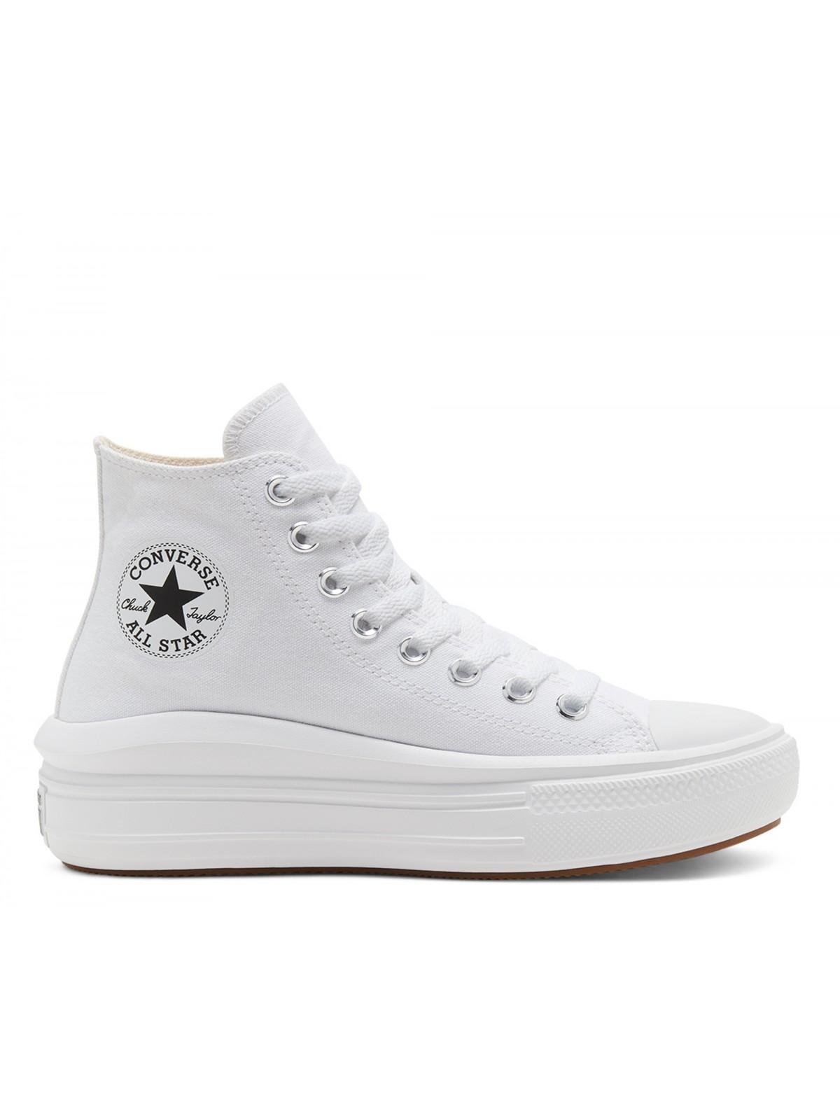Converse Chuck Taylor all star Move blanc ( plateforme)