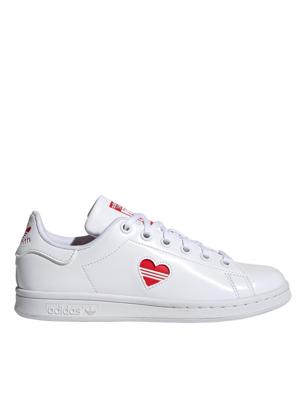 Adidas Stan Smith kids Primegreen coeur