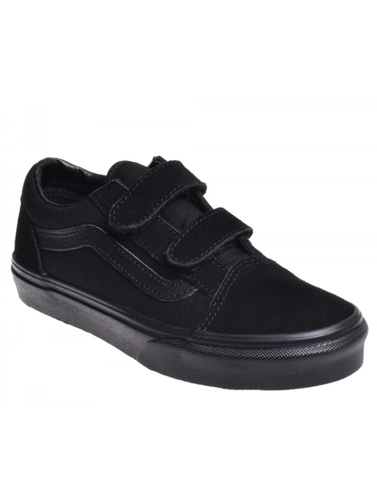 Vans Old Skool Velcro mono noir