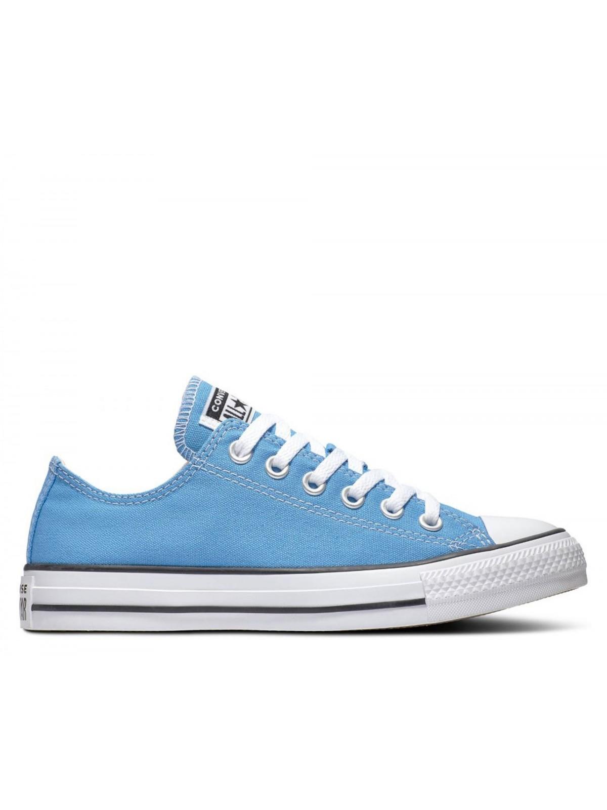 converse basse bleue
