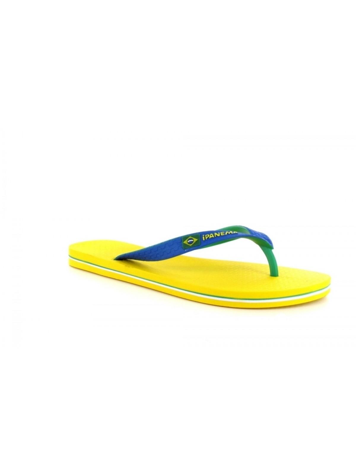 Ipanema Tong tricolore jaune / bleu
