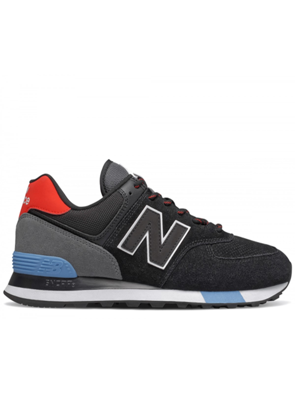New Balance ML574 JHO noir / rouge