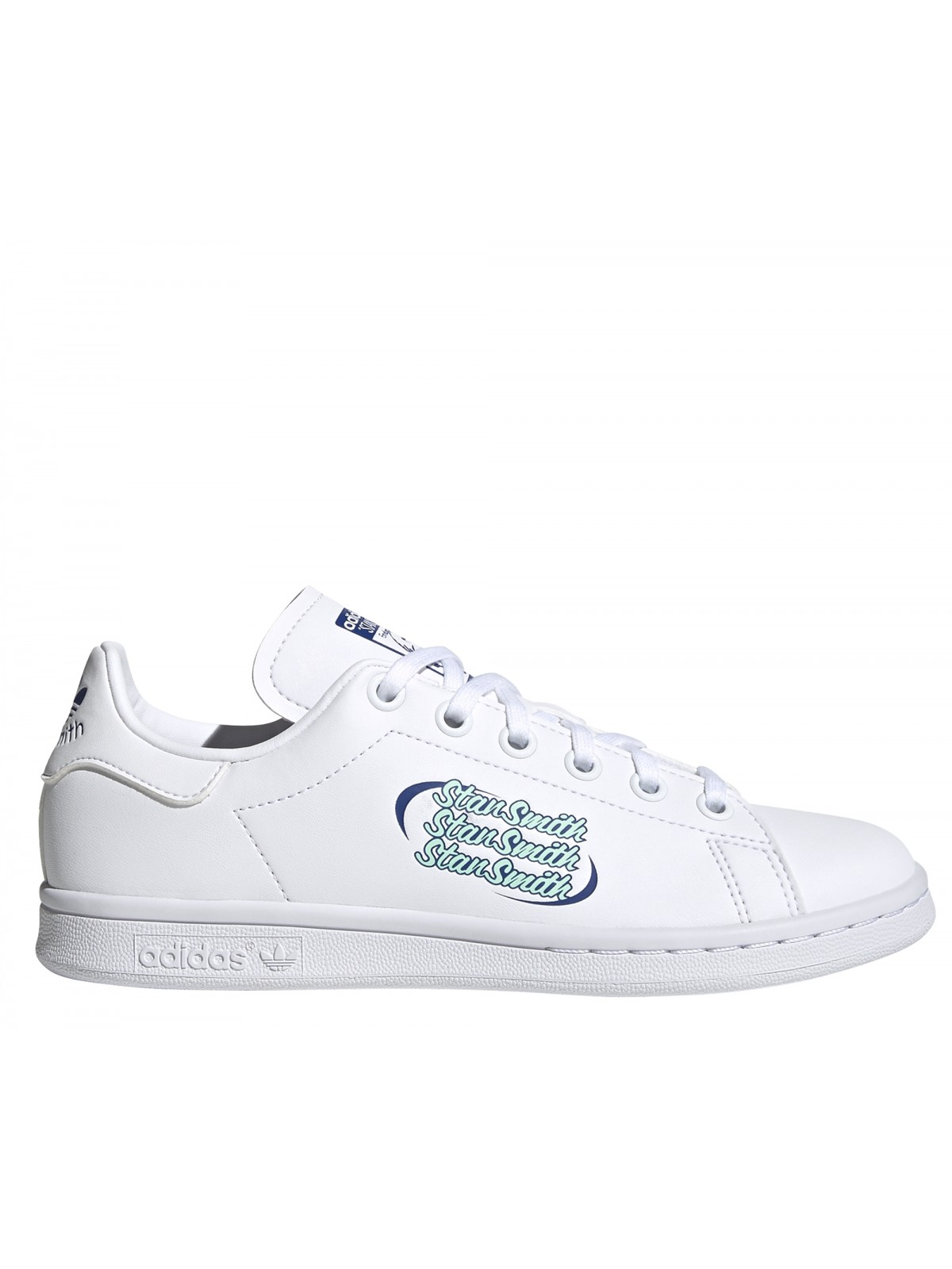 ADIDAS Stan Smith Kids blanc logo Stan