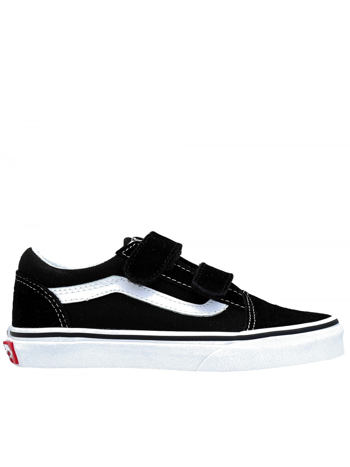 Vans Old Skool velcro noir blanc Old Skool Vans Marques