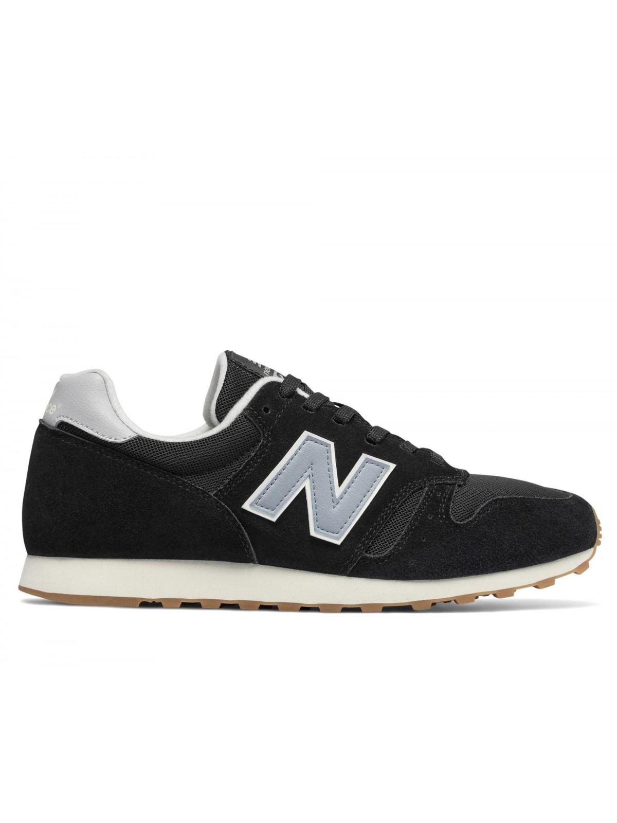 New Balance 373 nylon suède noir / grey