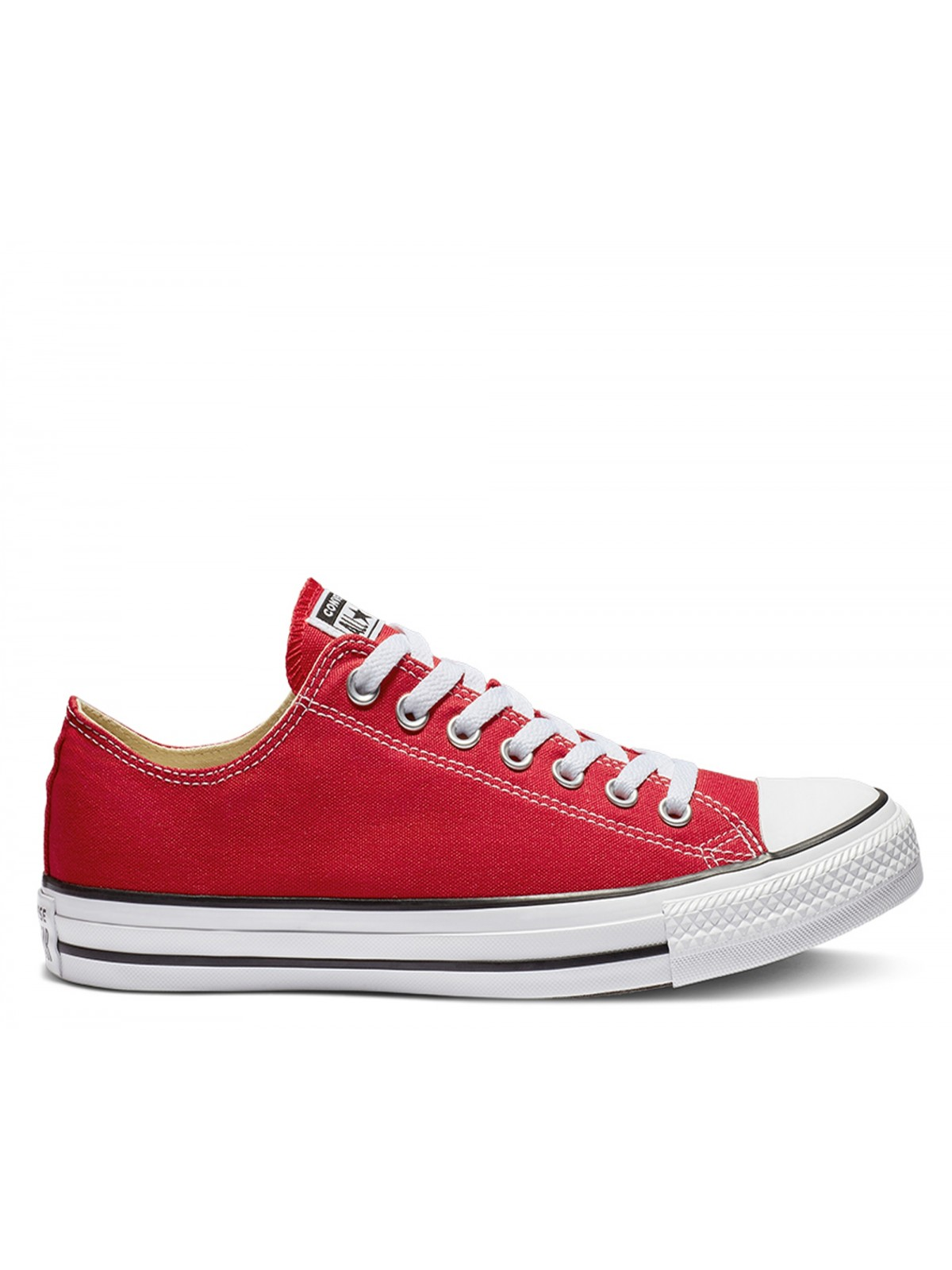 Converse Chuck Taylor all star toile basse rouge