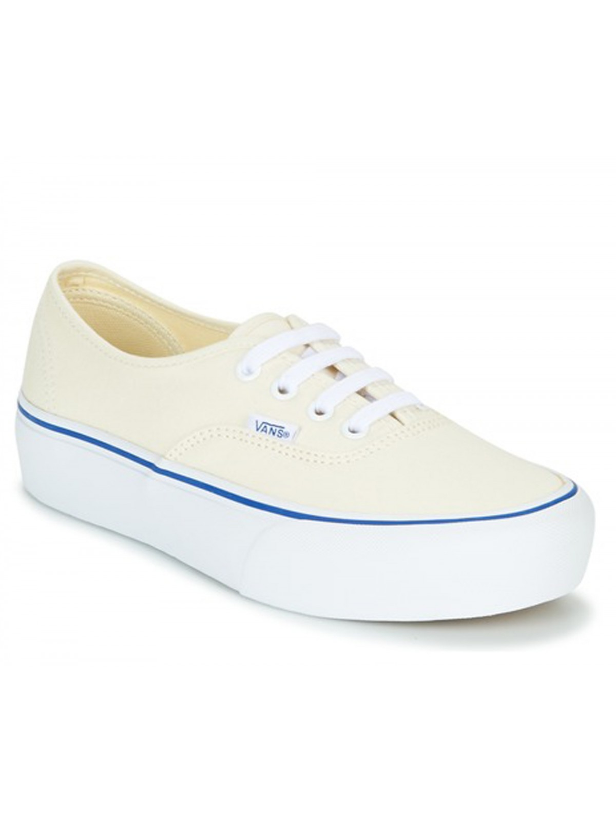 Vans Authentic Plateforme écru