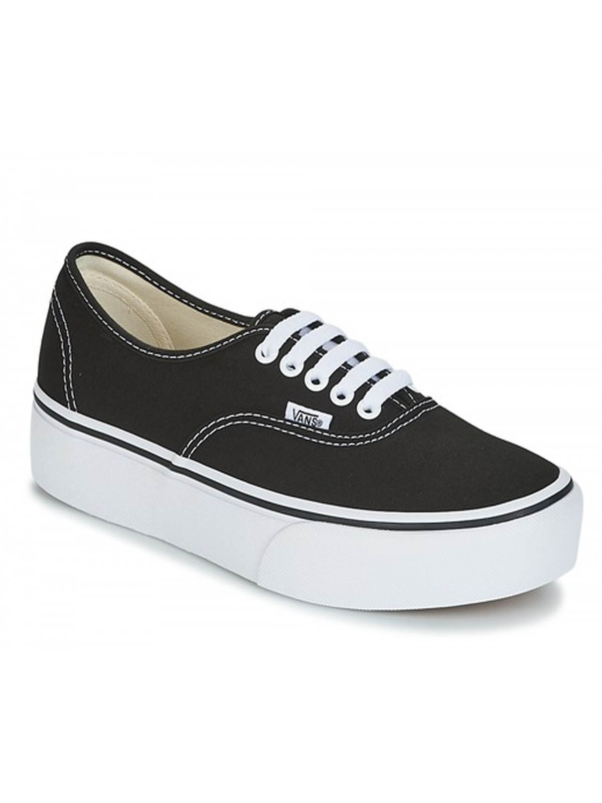 Vans Authentic Plateforme noir