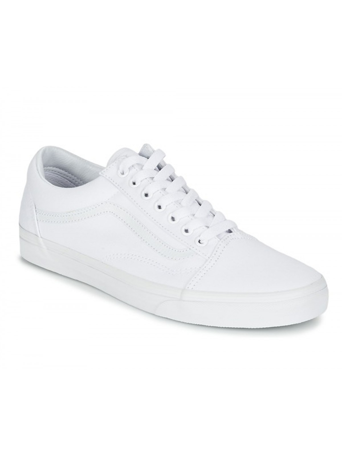 Vans Old Skool canvas mono blanc