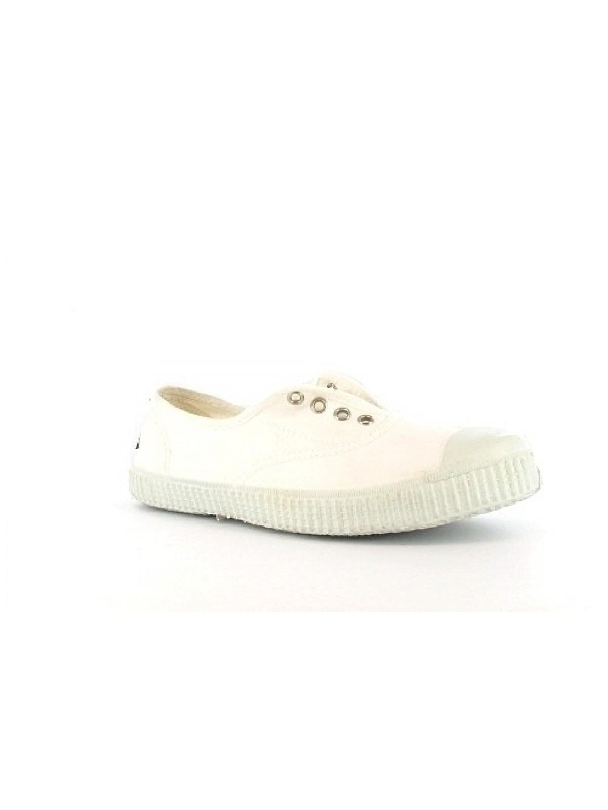 Victoria toile elastique blanc