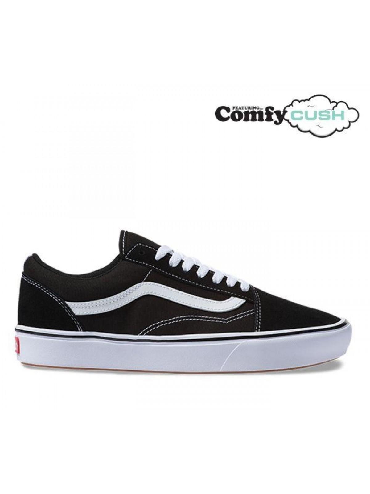 Vans Old Skool Comfy Cush noir / blanc ( modèle léger )