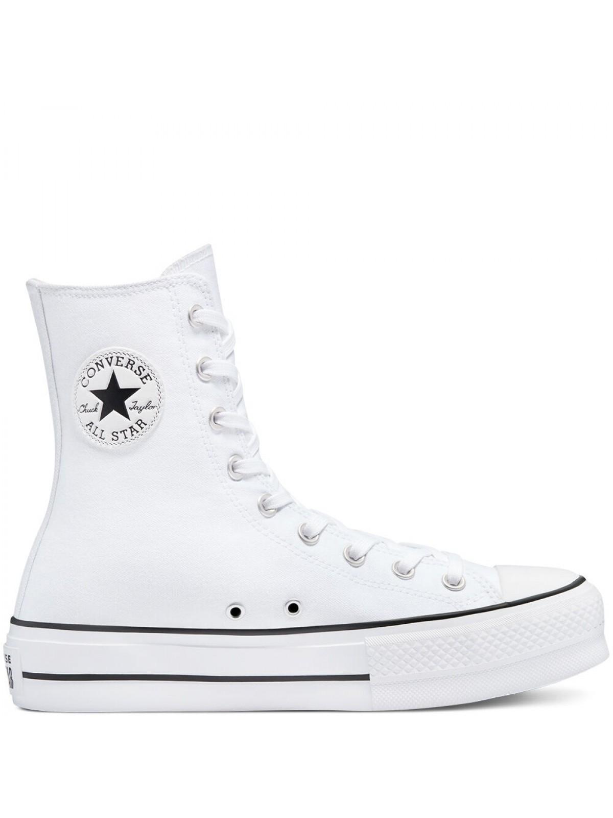 Converse Chuck Taylor all star Lift XI plateforme blanc