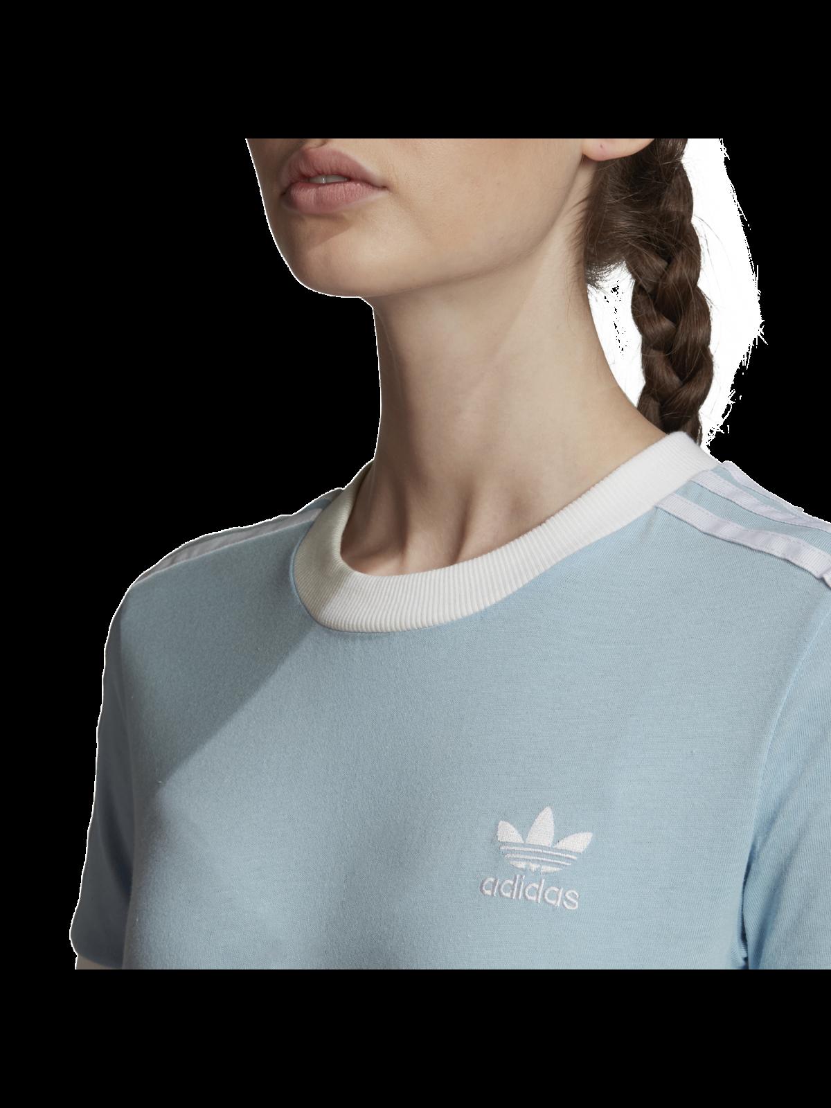 ADIDAS FM3322 Tee-Shirt bleu ciel