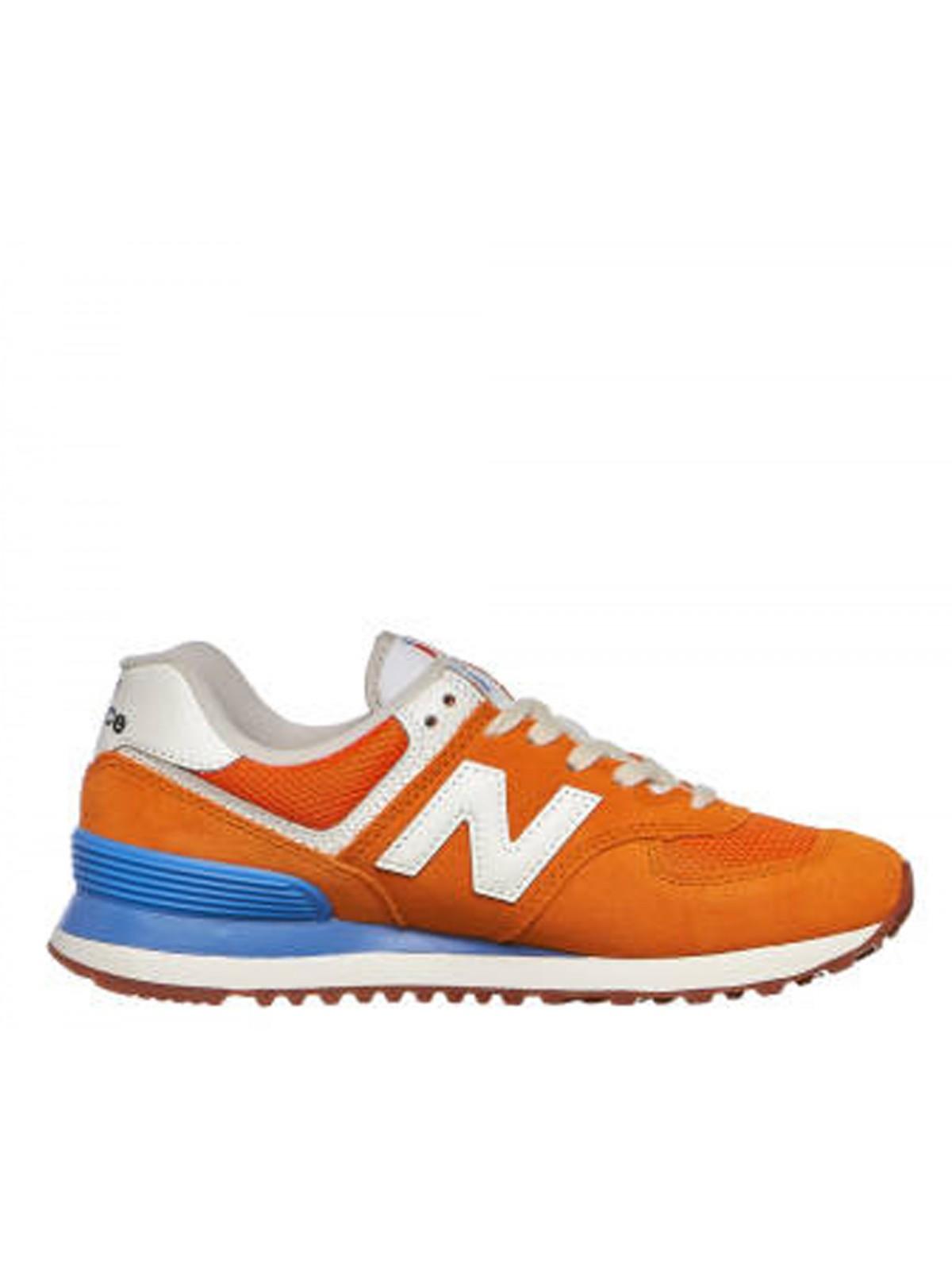 New Balance WL574 orange