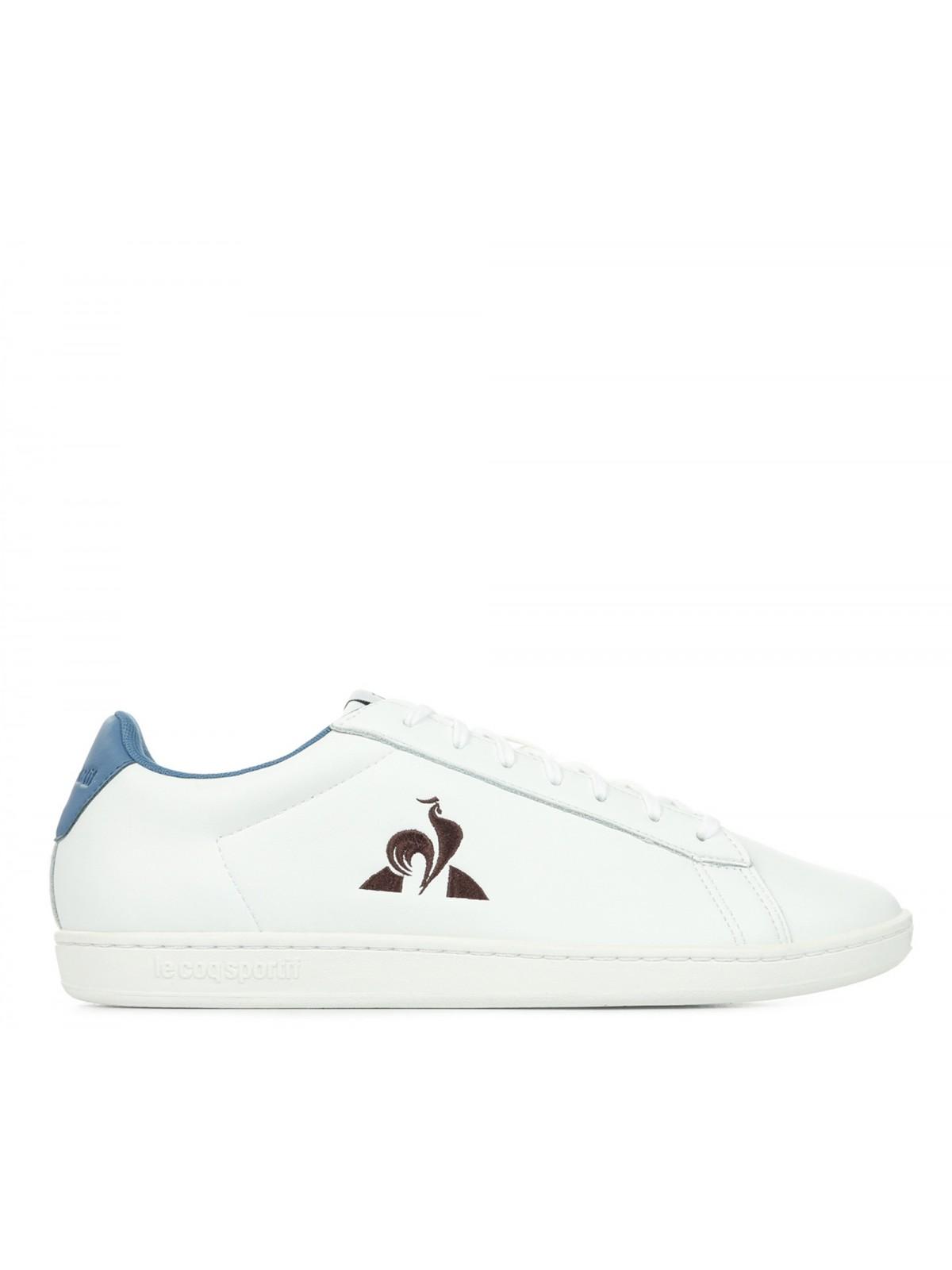 Le Coq Sportif Master Court cuir blanc / andorra