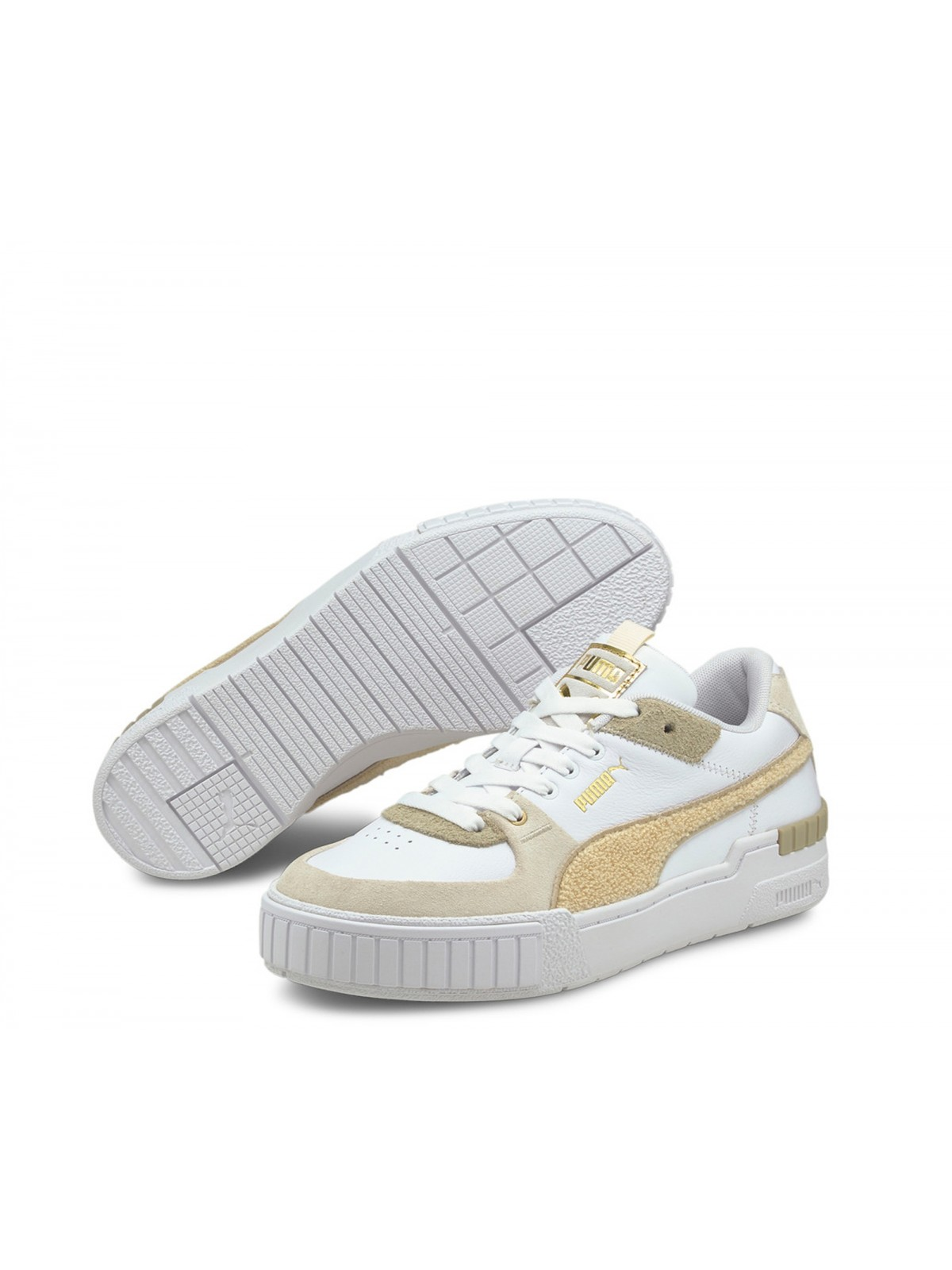 Puma Cali Sport Varsity Velours beige