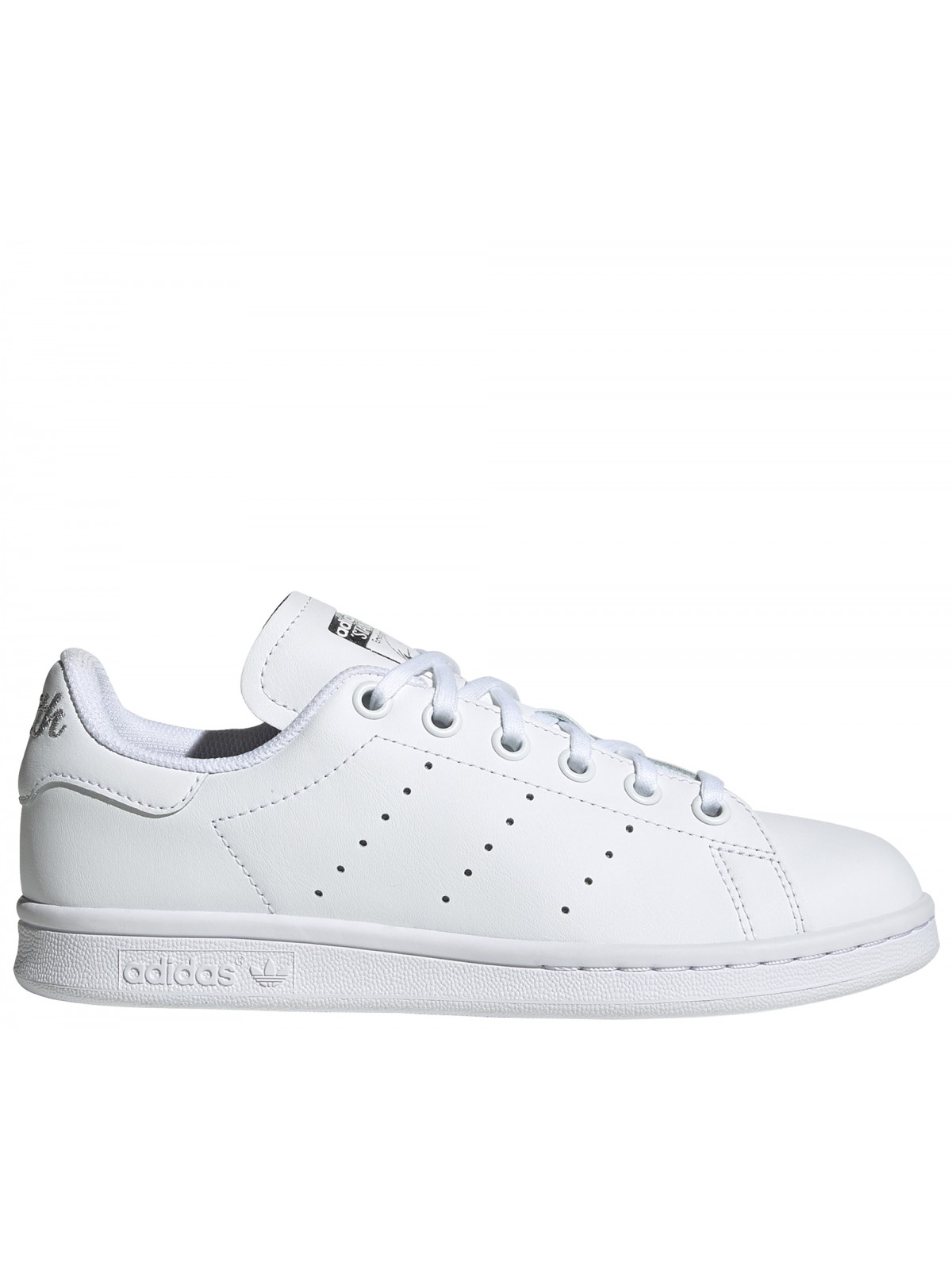 ADIDAS Stan Smith Kids Inscription blanc / argent