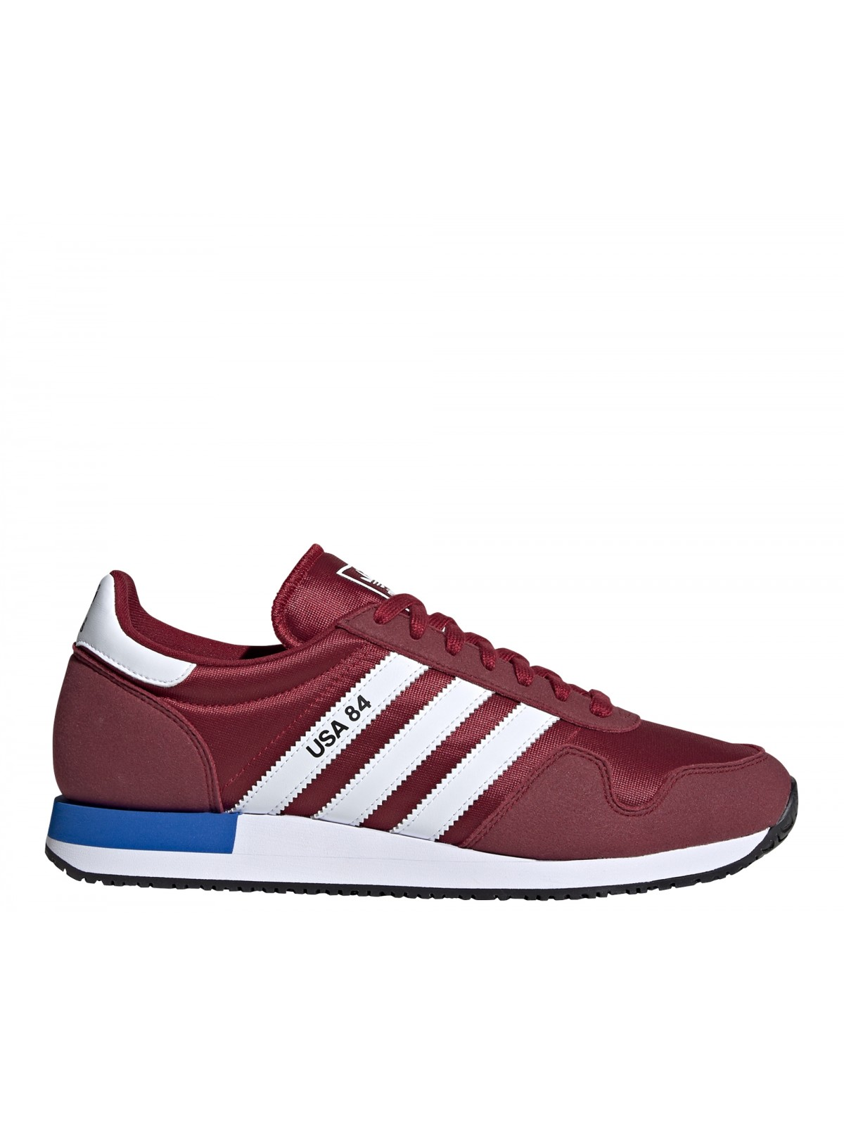 ADIDAS USA84 bordeaux / blanc