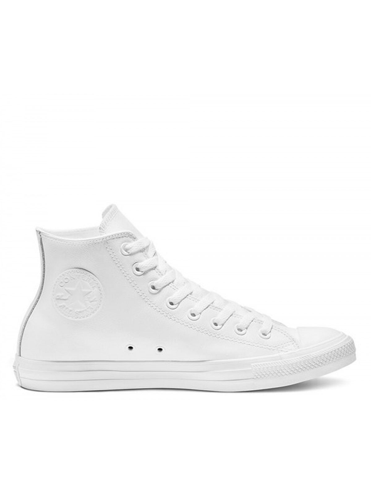 Converse Chuck Taylor all star  cuir full blanc
