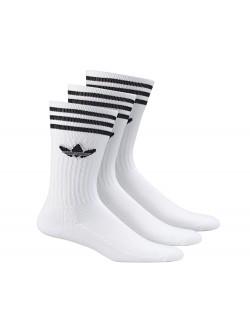 ADIDAS Chaussettes hautes crew blanc / noir
