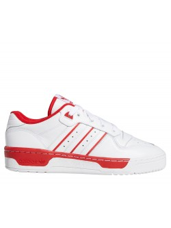 ADIDAS Rivalry Cuir blanc  / rouge