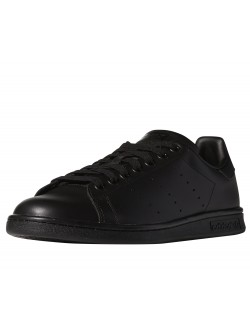 ADIDAS Stan Smith simili cuir mono noir