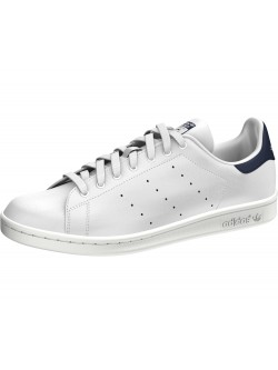 ADIDAS Stan Smith simili cuir blanc / marine