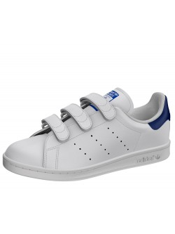 Adidas Stan Smith velcro blanc / raf