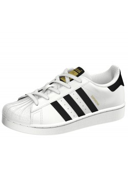Adidas Superstar Cadet blanc / noir