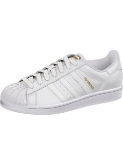 ADIDAS Superstar cuir monochrome blanc