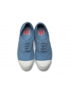 Bensimon tennis lacet denim