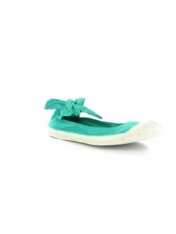 Bensimon ballerine Flo turquoise