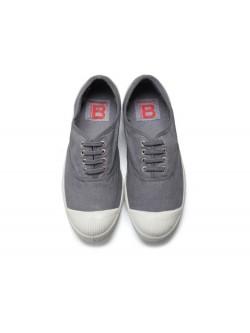 Bensimon tennis lacet gris moyen