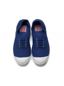 Bensimon tennis lacet bleu vif