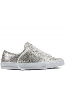 Converse Chuck Taylor All Star Gemma Sting Ray basse silver